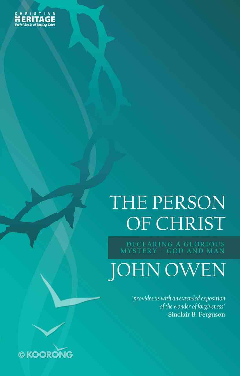 The Person of Christ Paperback