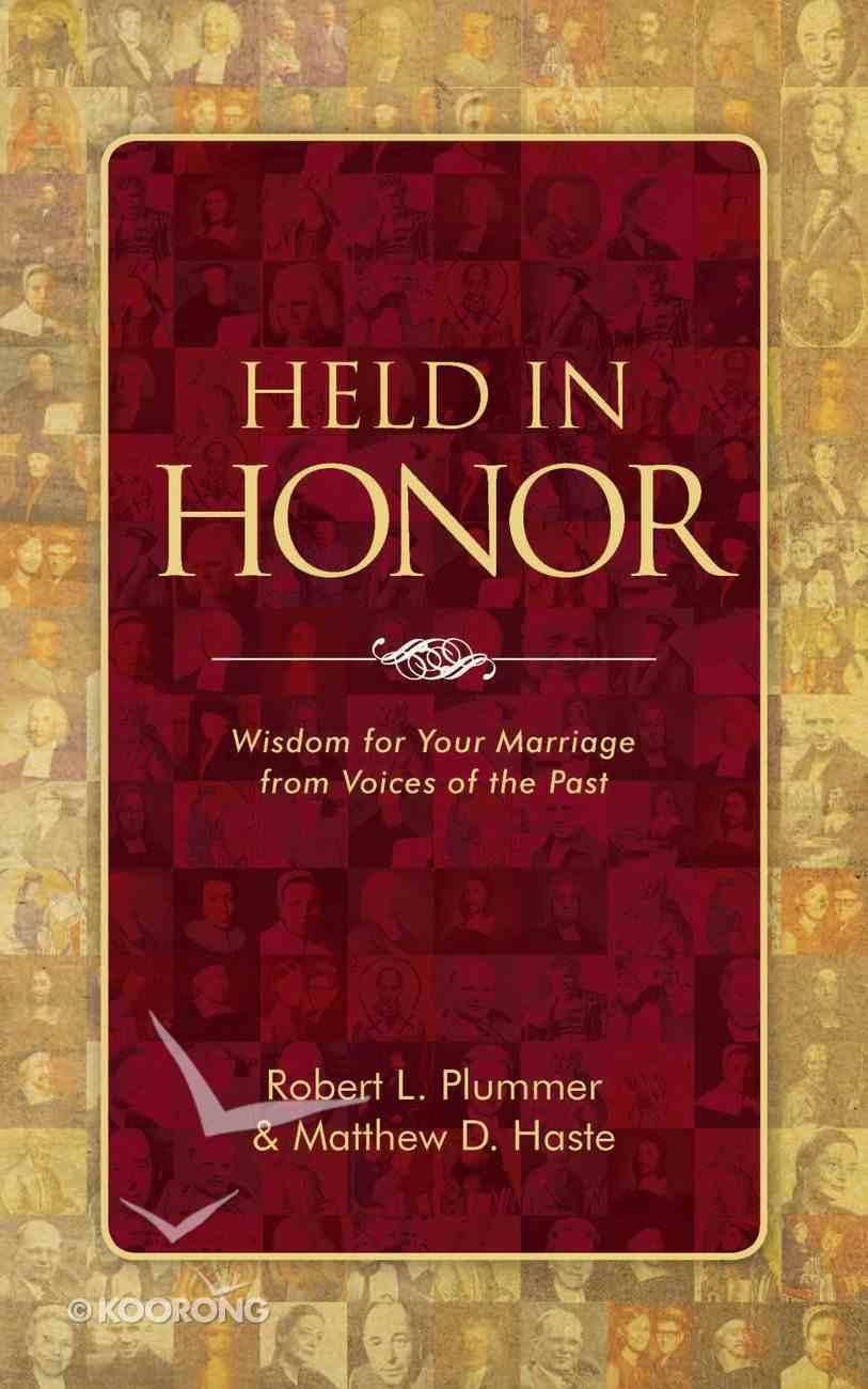 Held in Honor Paperback
