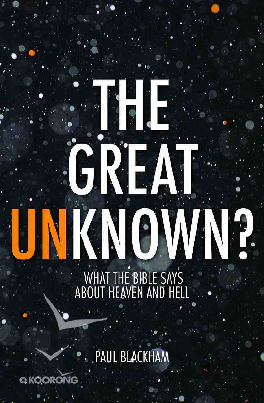 The Great Unknown? Paperback