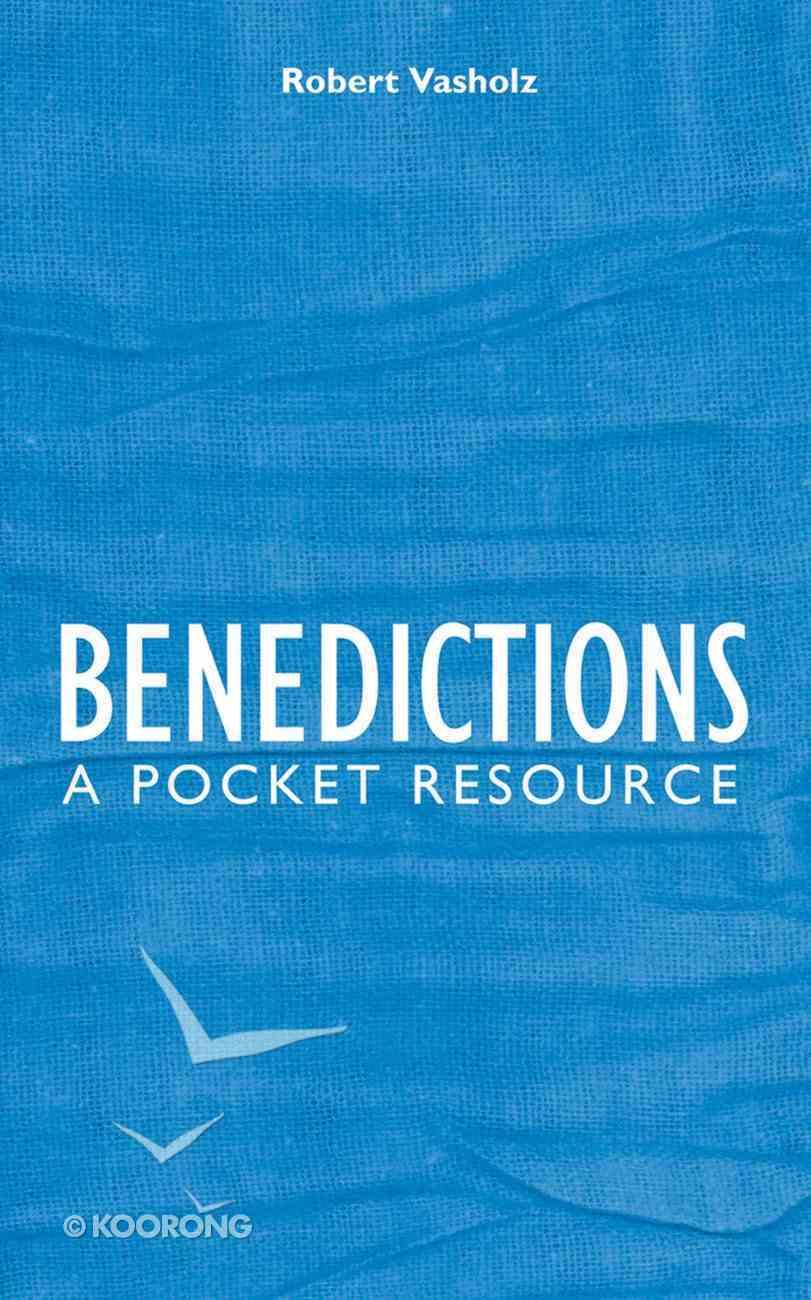 Benedictions Hardback