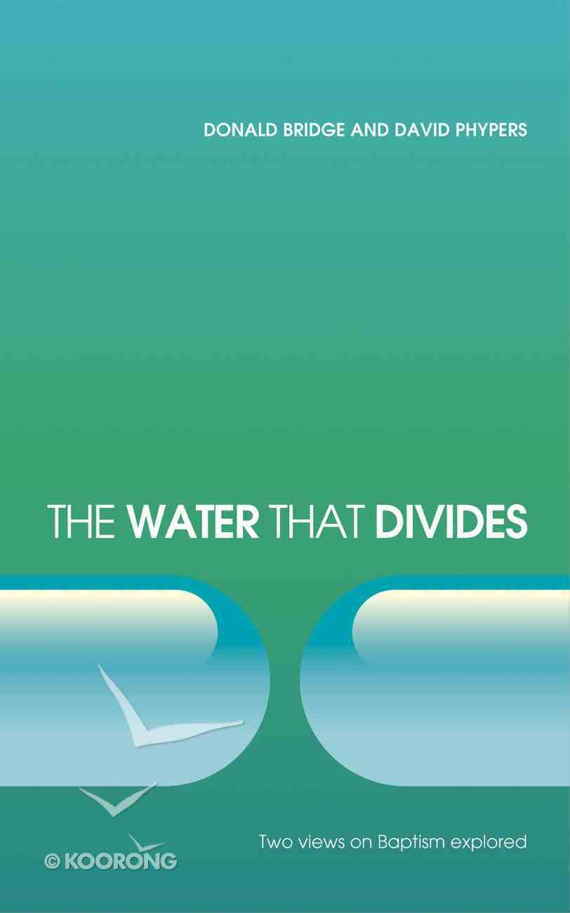 The Water That Divides Paperback