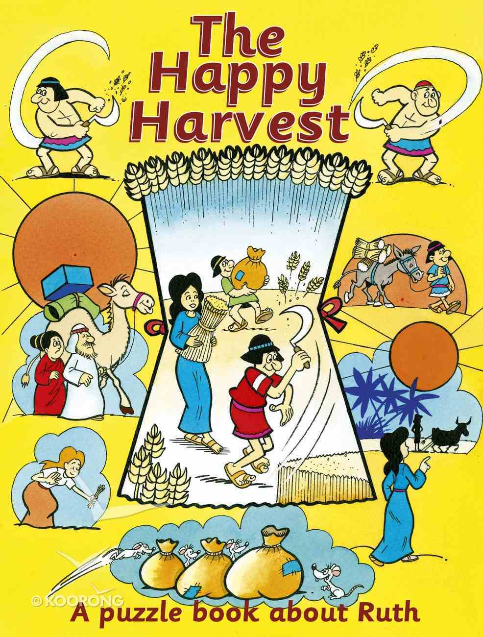 Happy Harvest Ruth (Puzzle & Learn Series) Paperback