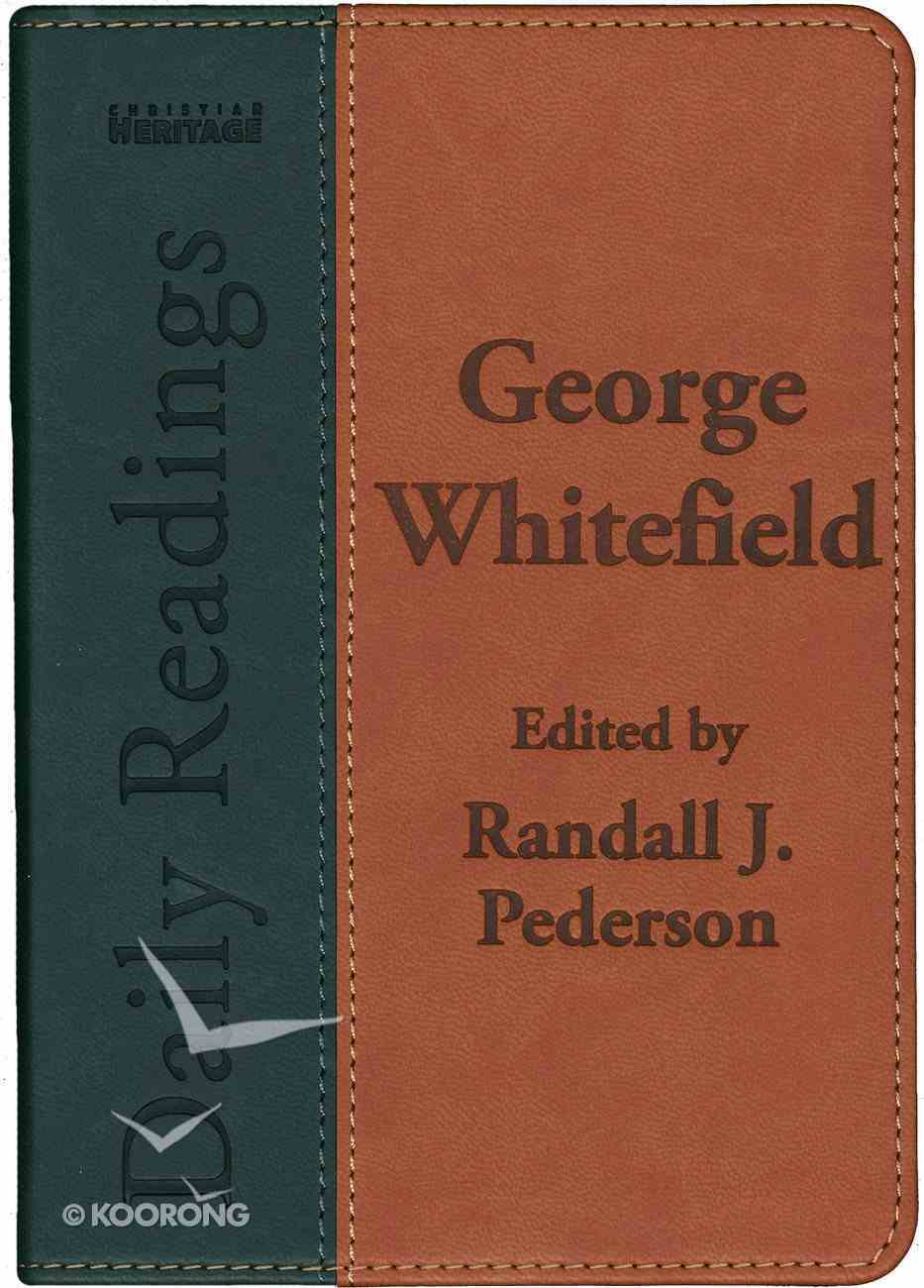 George Whitefield Daily Readings Imitation Leather