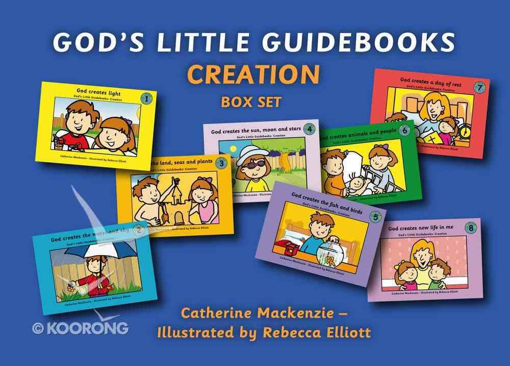 Creation (8 Books Box Set) (God's Little Guidebooks Series) Booklet