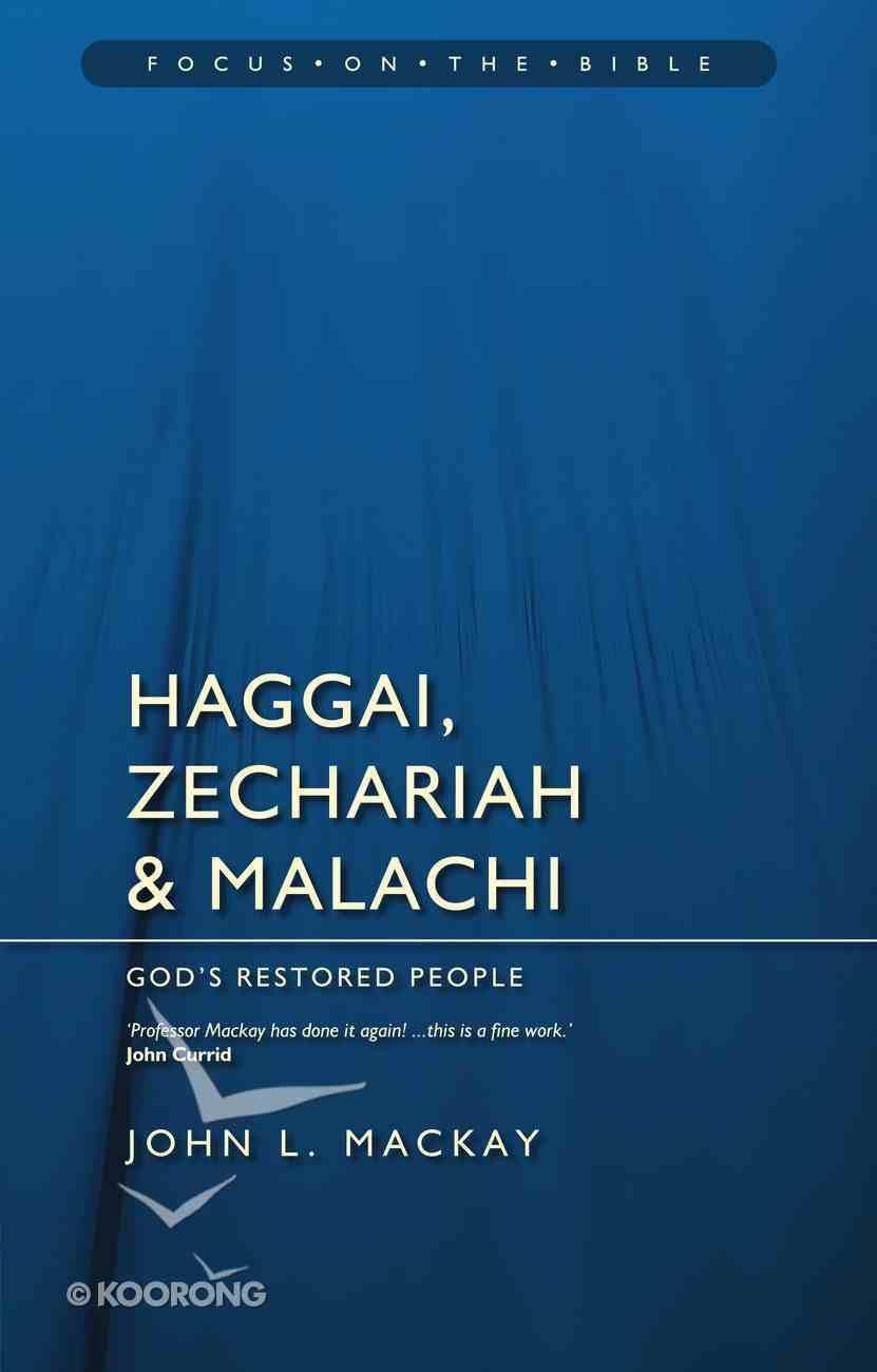 Fotb: Haggai, Zechariah and Malachi PB Large Format