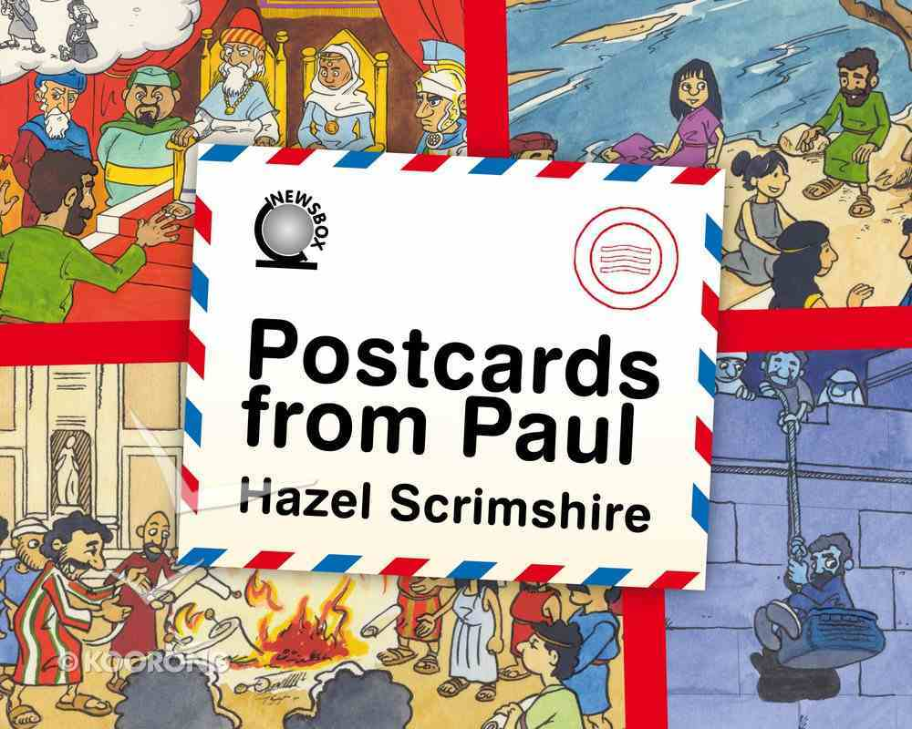 Postcards From Paul Board Book
