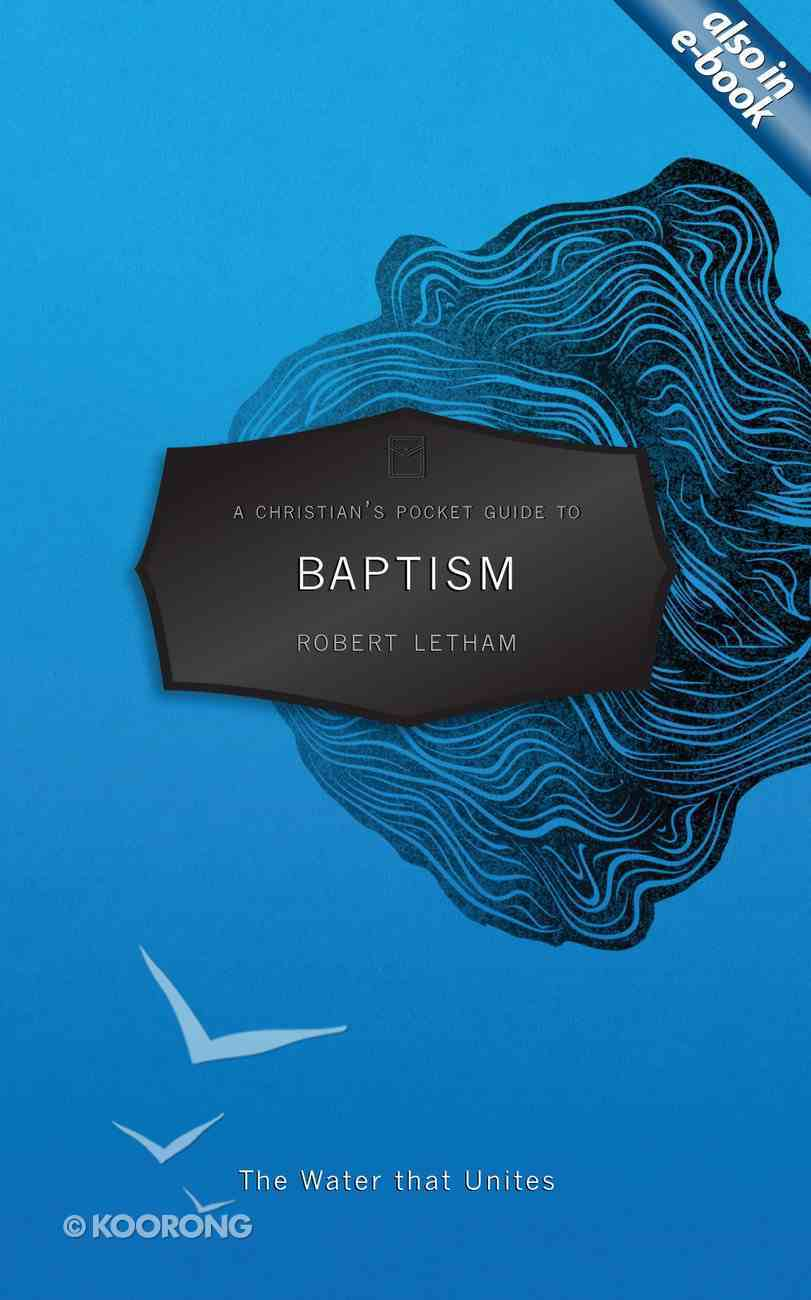 Baptism (A Christian's Pocket Guide Series) Mass Market