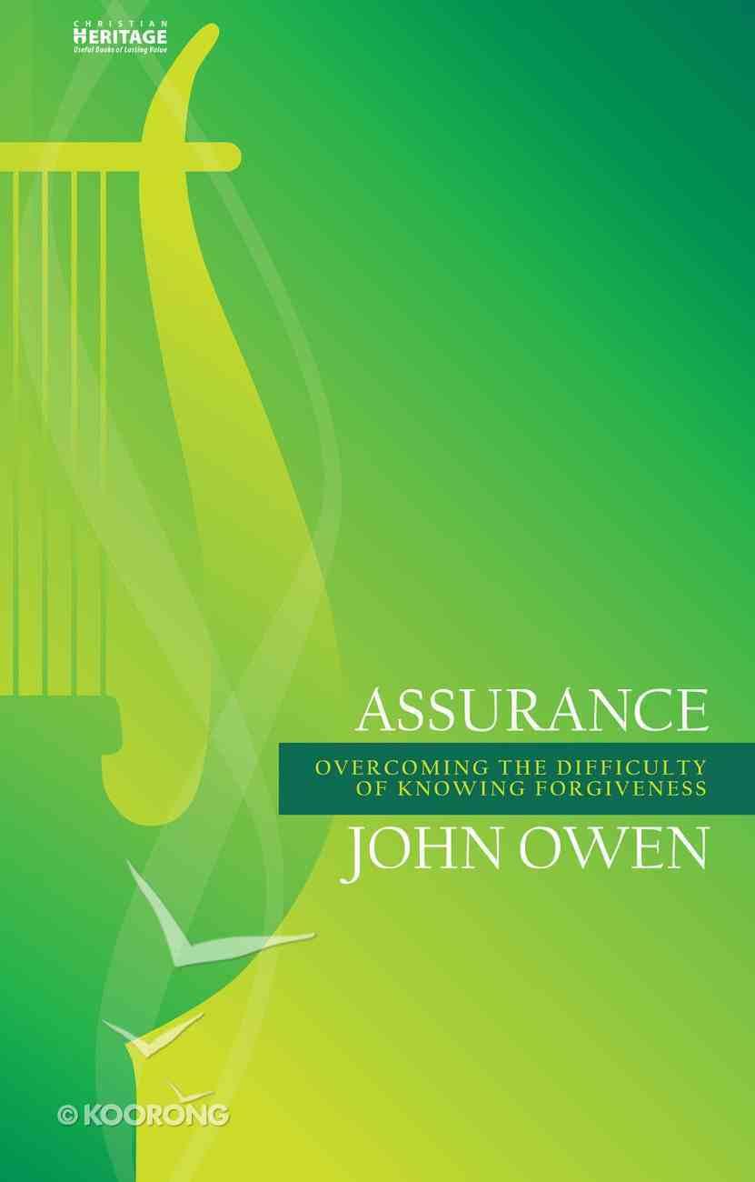 Assurance Paperback