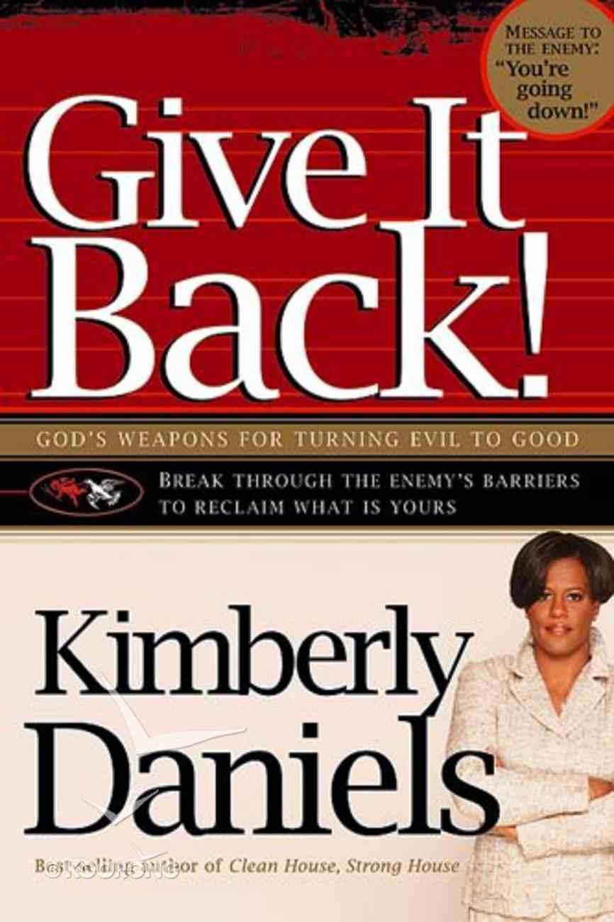 Give It Back! Paperback