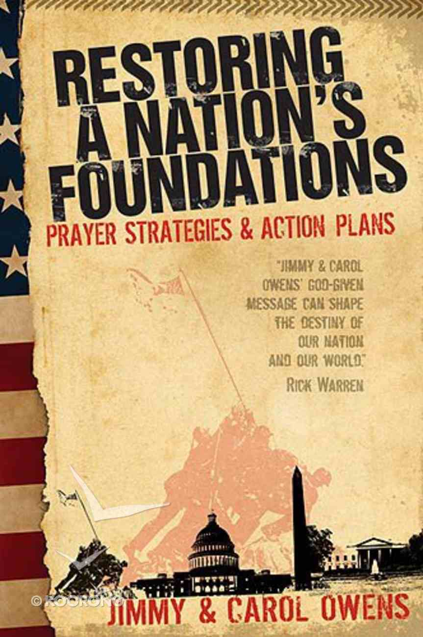 Restoring a Nation's Foundations Paperback