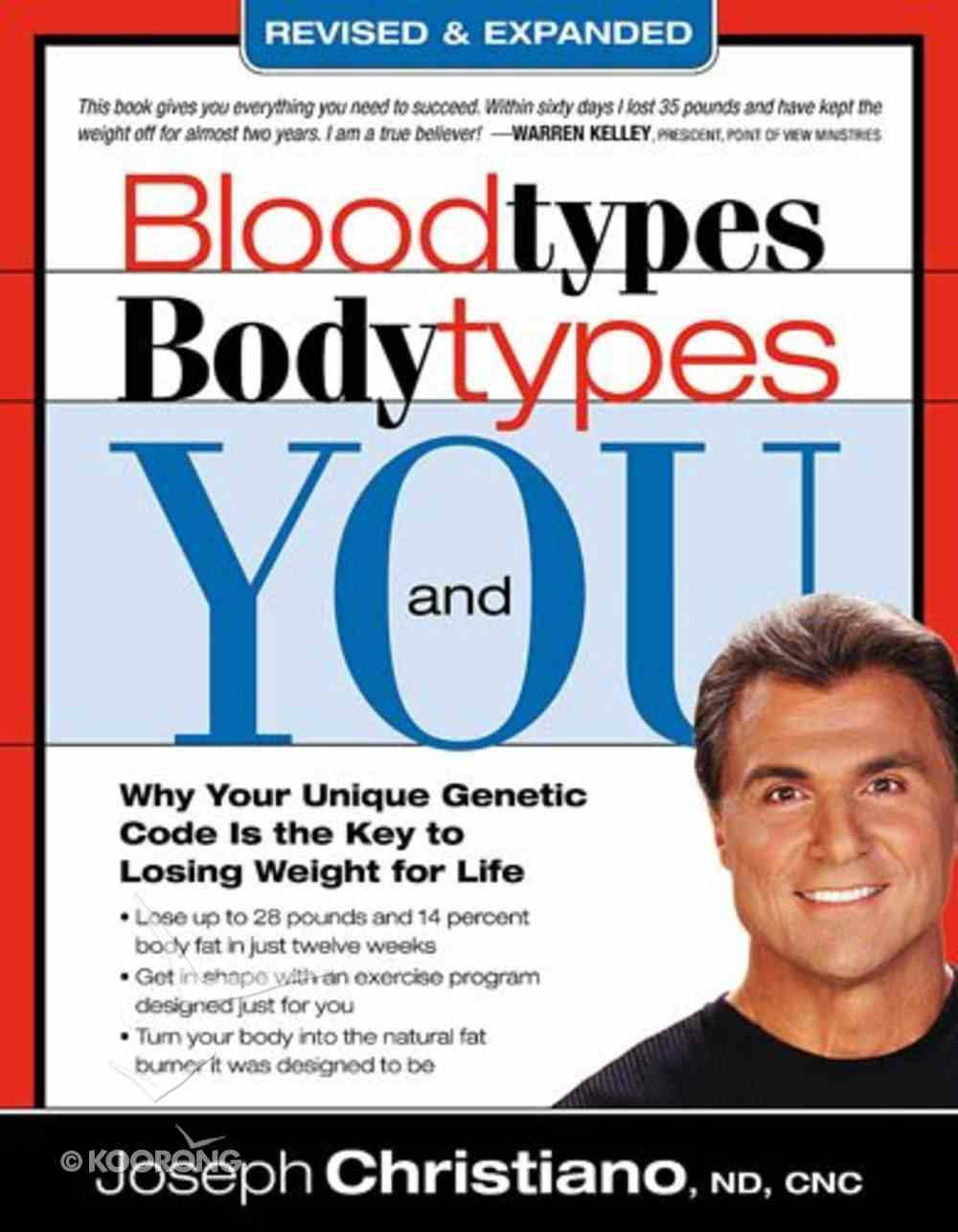 Blood Types, Body Types and You Paperback