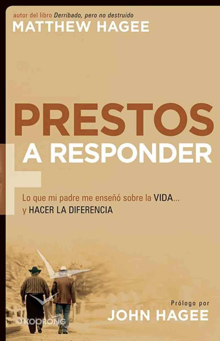 Prestos a Responder (Spanish) (Response-able) Paperback