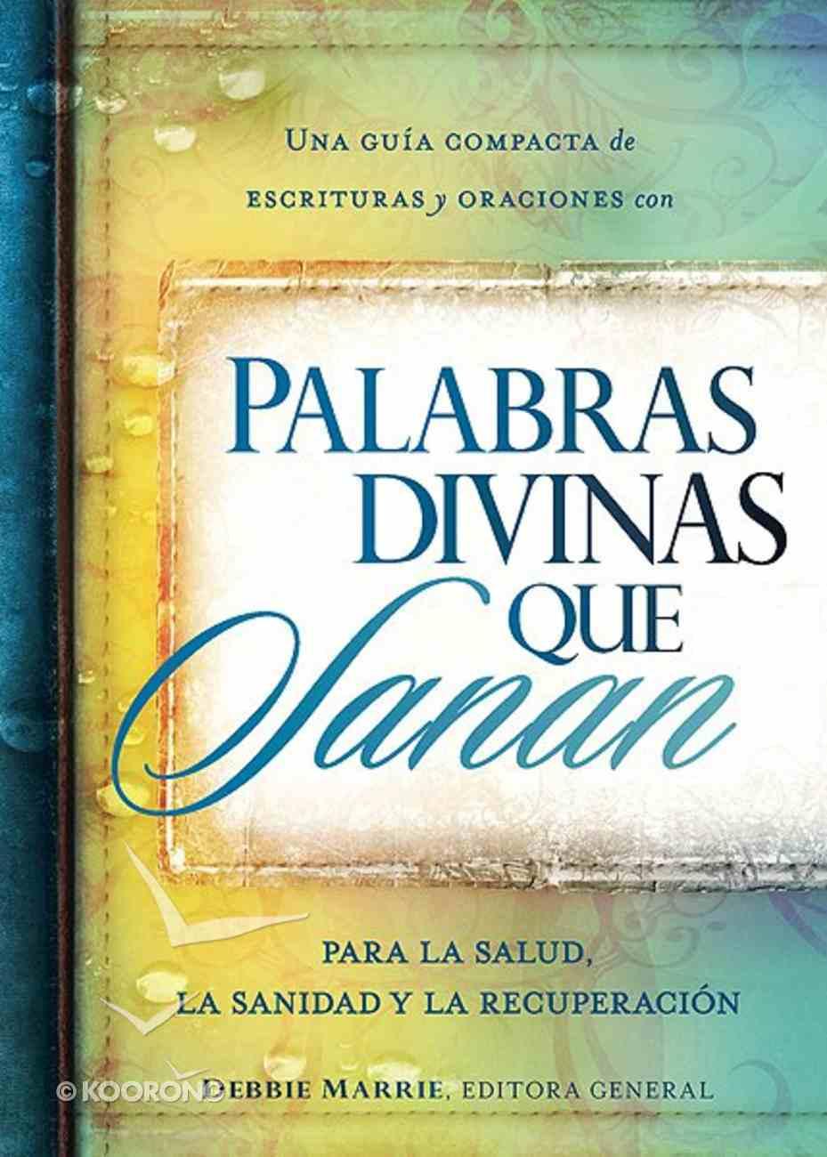 Palabras Divinas Que Sanan (Divine Words That Heal) Paperback
