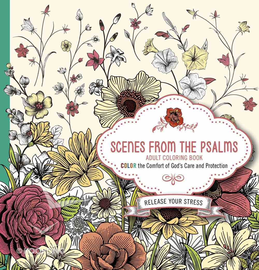 Scenes From the Psalms (Adult Coloring Books Series) Paperback