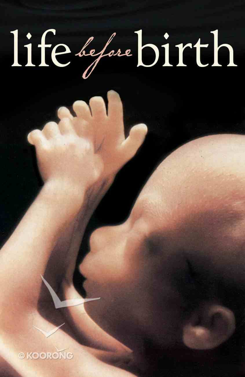 Life Before Birth (25 Pack) Booklet
