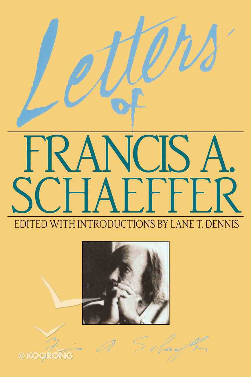 Letters of Francis Schaeffer Paperback