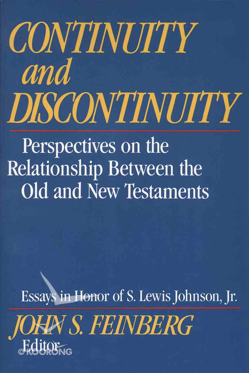 Continuity and Discontinuity Paperback