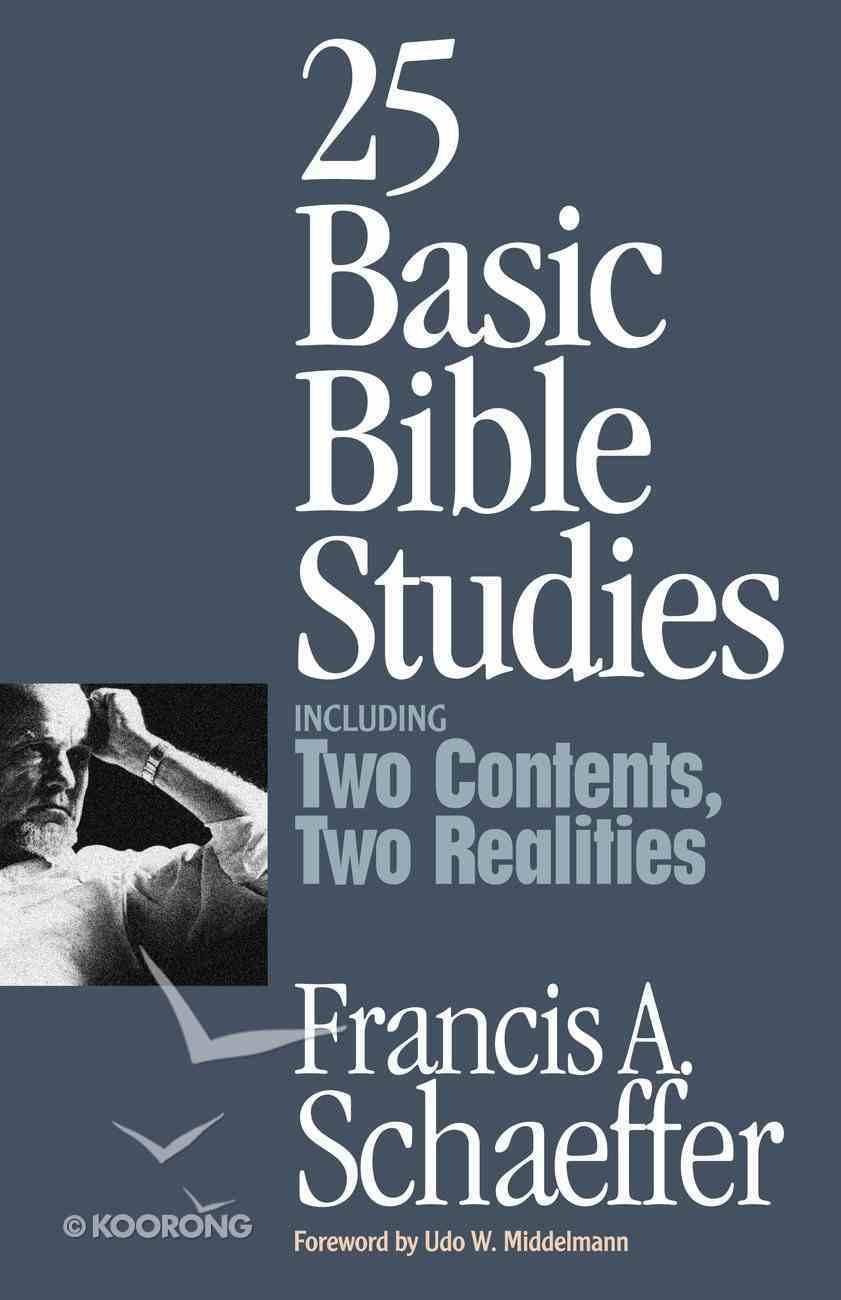 25 Basic Bible Studies Paperback