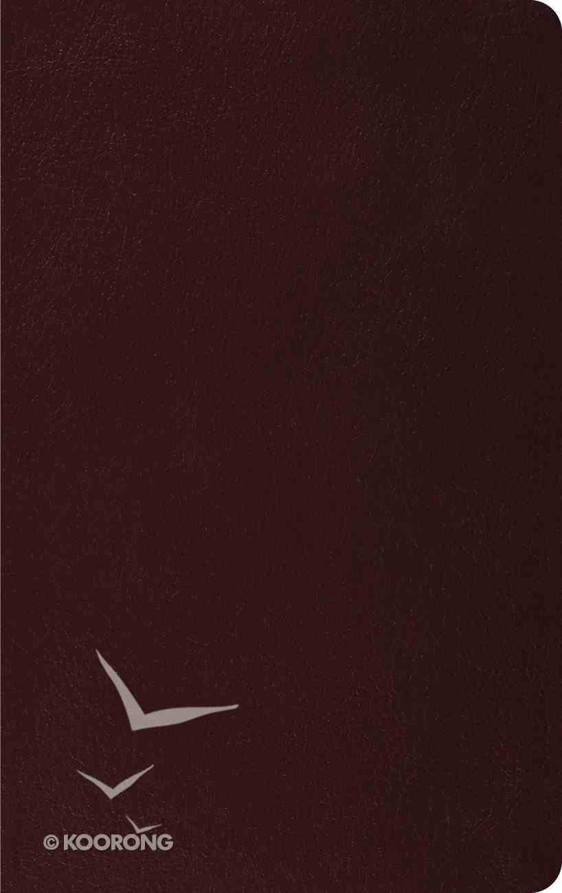 ESV Thinline Bible Burgundy (Red Letter Edition) Bonded Leather