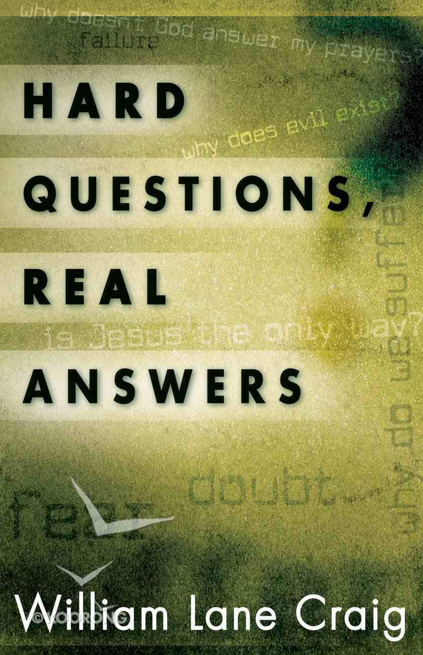 Hard Questions, Real Answers Paperback