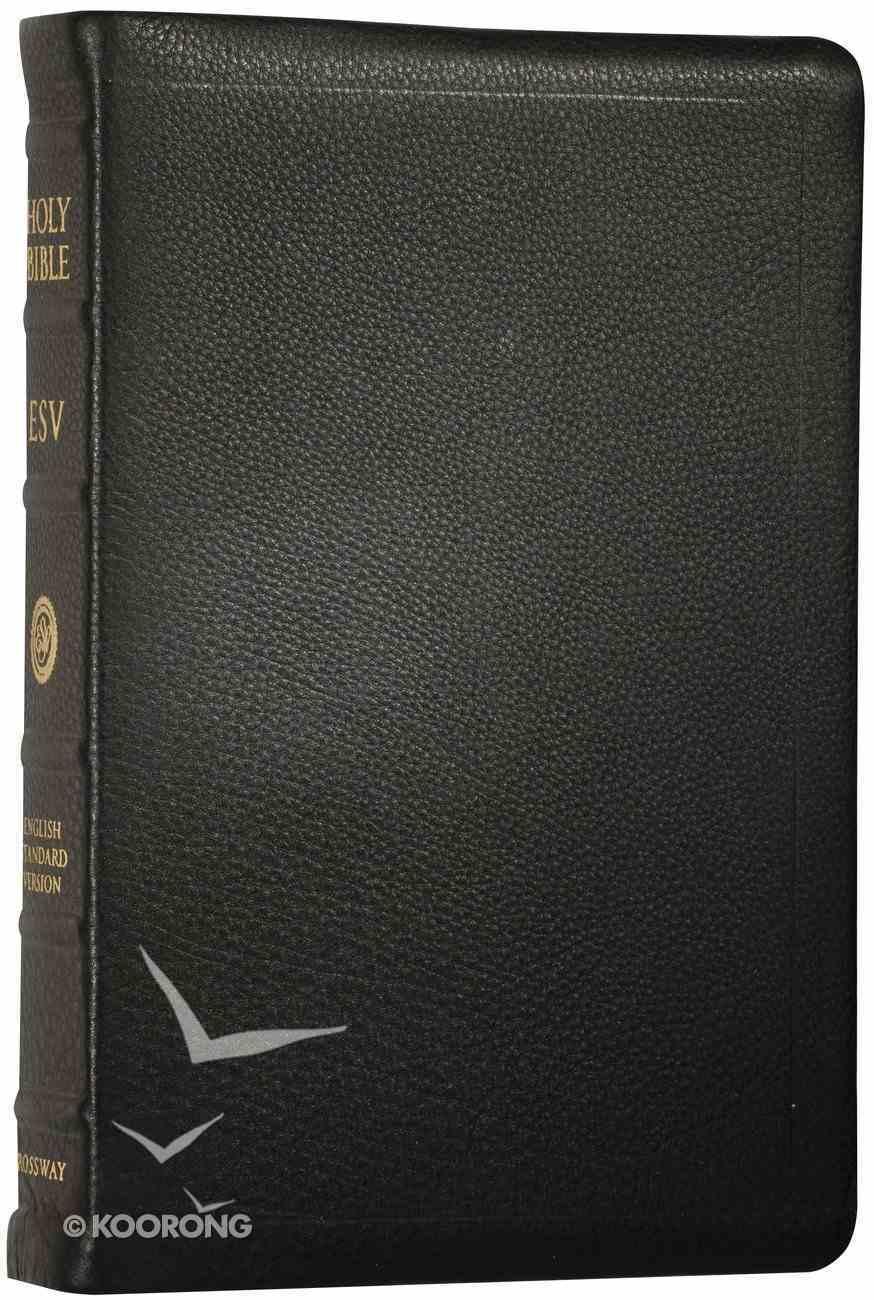 ESV Classic Reference Premium Calfskin Black Genuine Leather