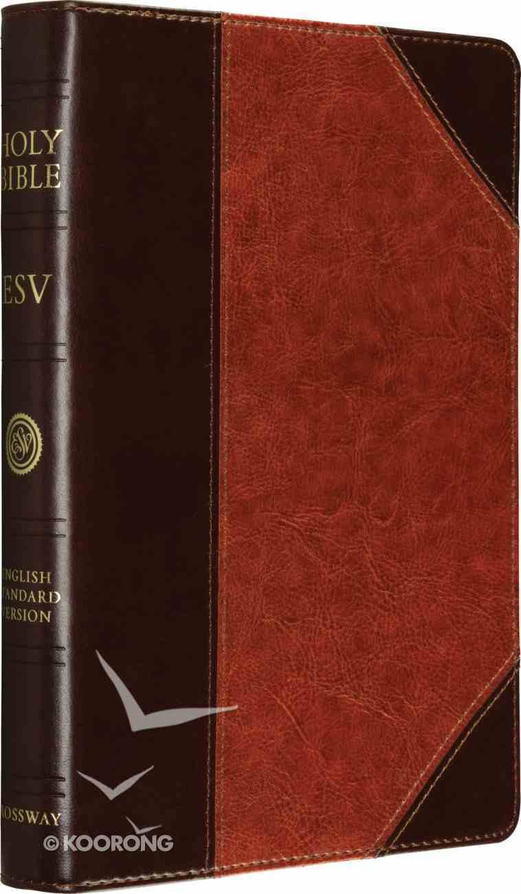 ESV Reference Brown/Cordovan Portfolio Design Imitation Leather