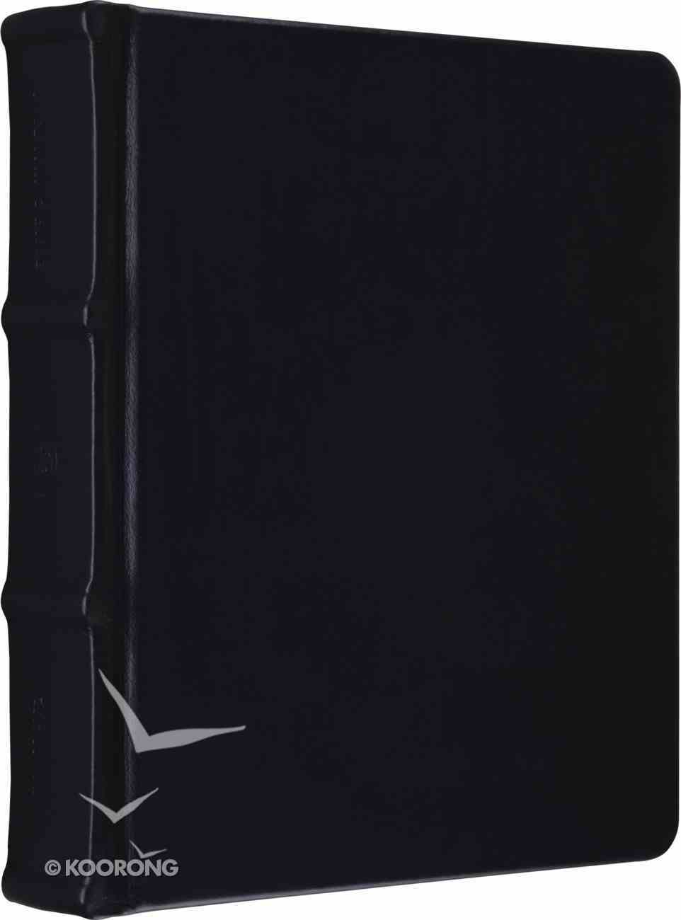 ESV Journaling Bible Calfskin Black Genuine Leather