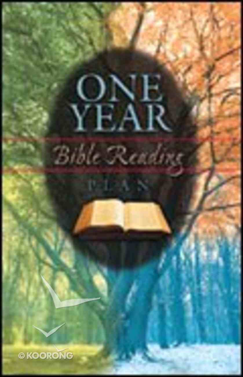 One Year Bible Reading Plan (Pack Of 25) Booklet