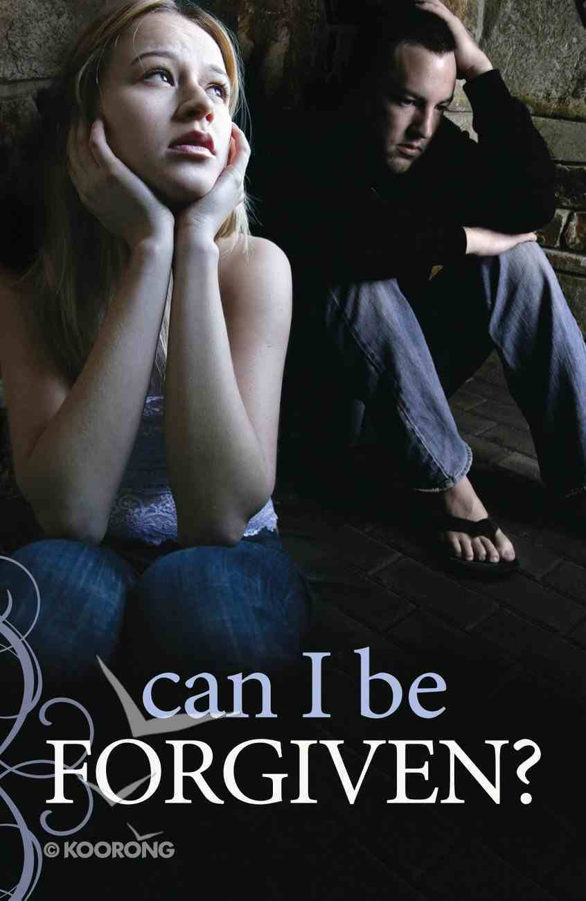 Can I Be Forgiven? (Pack Of 25) Booklet