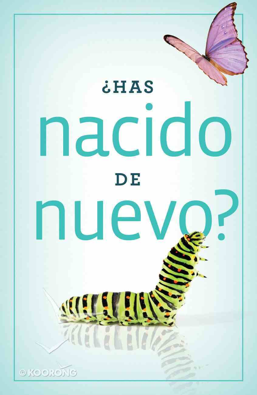 Have You Been Born Again? (Spanish, Pack Of 25) Booklet
