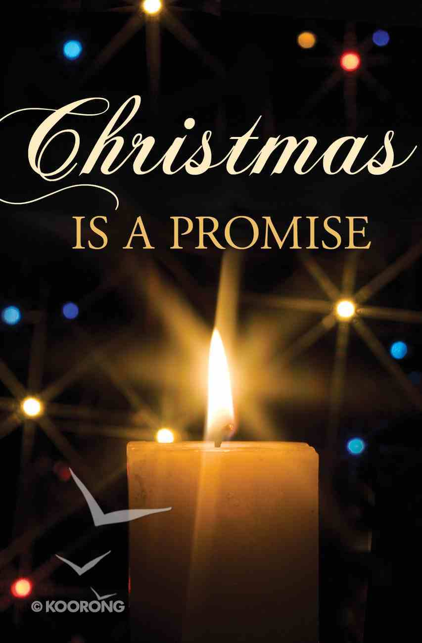 Christmas is a Promise (Pack Of 25) Booklet