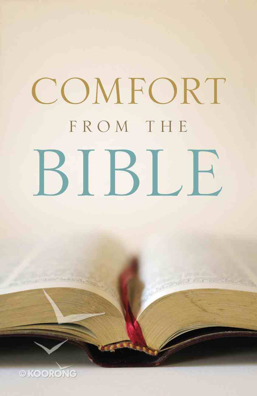 Comfort From the Bible (Pack Of 25) Booklet