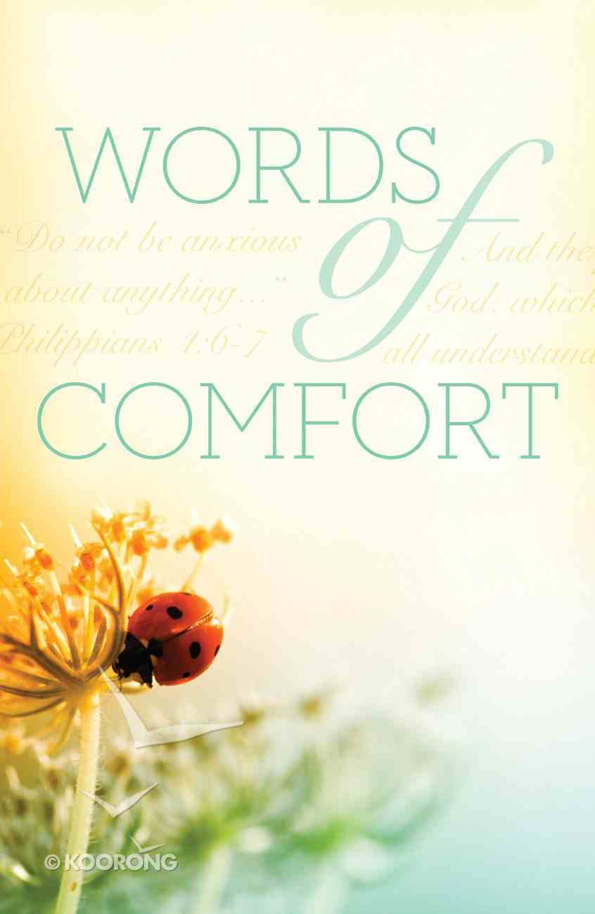 Words of Comfort (Pack Of 25) Booklet