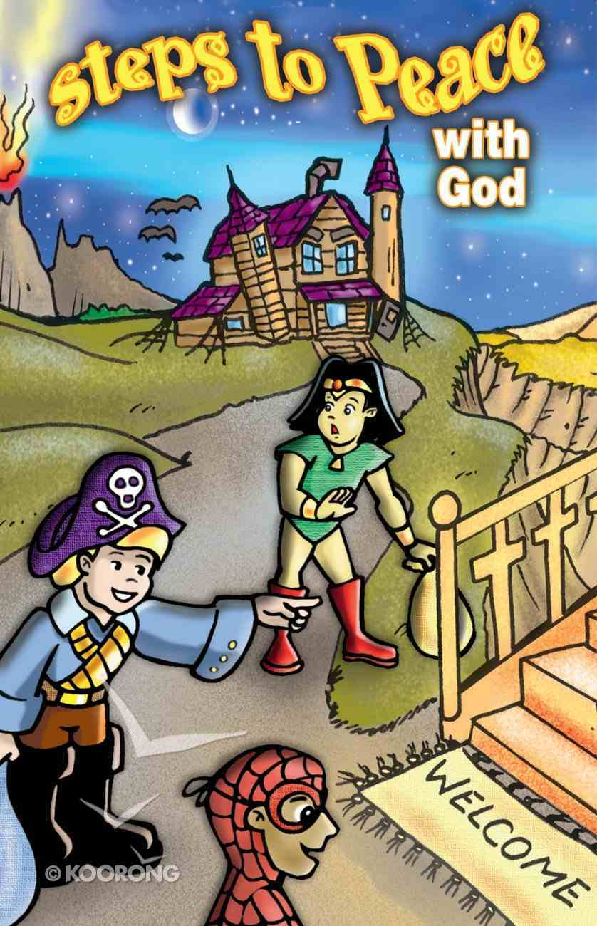 Halloween Steps to Peace With God (Pack Of 25) Booklet