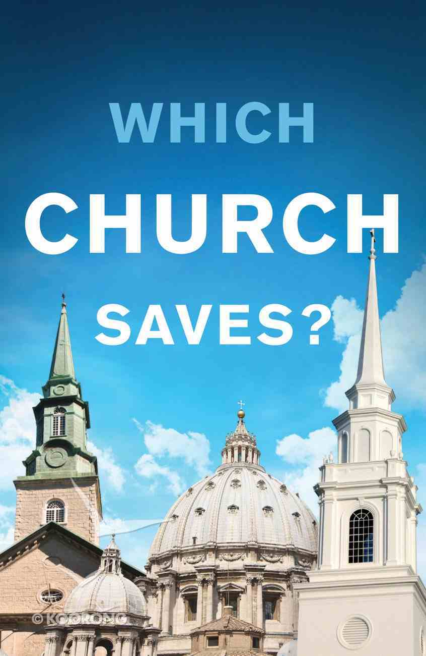 Which Church Saves? (Pack Of 25) Booklet