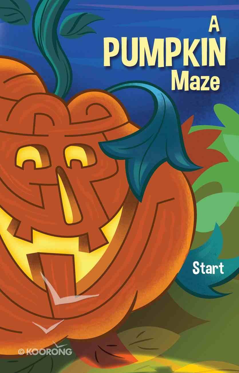 A Pumpkin Maze (Pack Of 25) Booklet