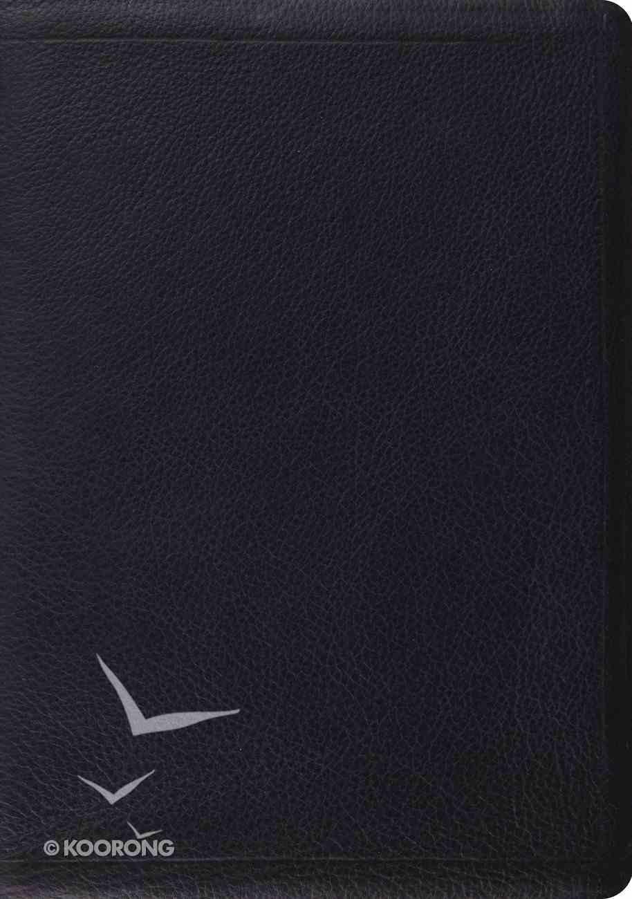 ESV Study Bible Premium Calfskin Black (Black Letter Edition) Genuine Leather