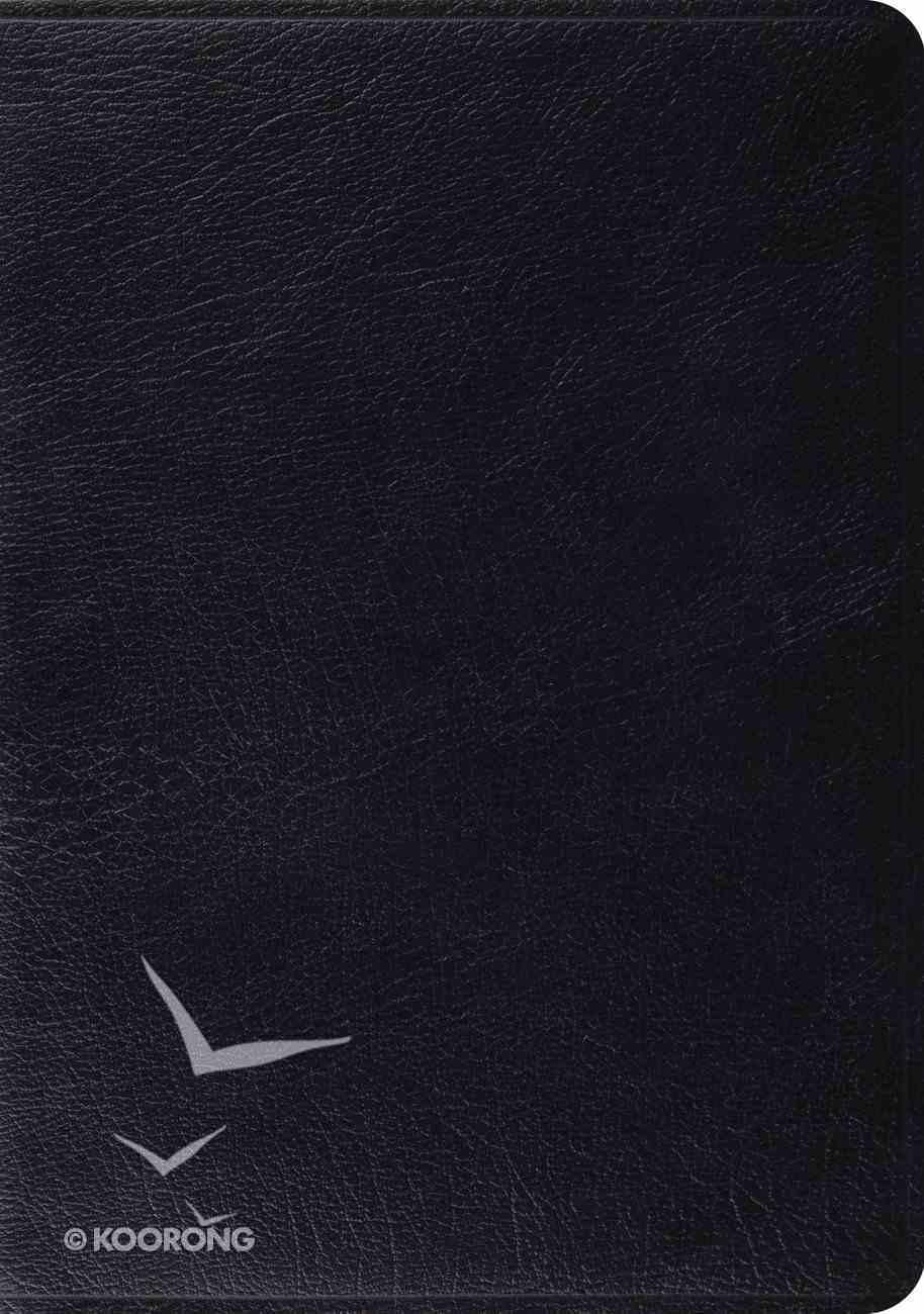 ESV Study Bible Black (Black Letter Edition) Genuine Leather