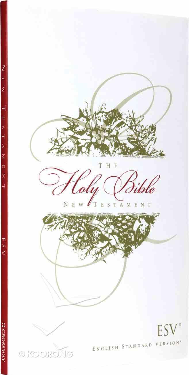 ESV Outreach New Testament Christmas Wreath Design Paperback