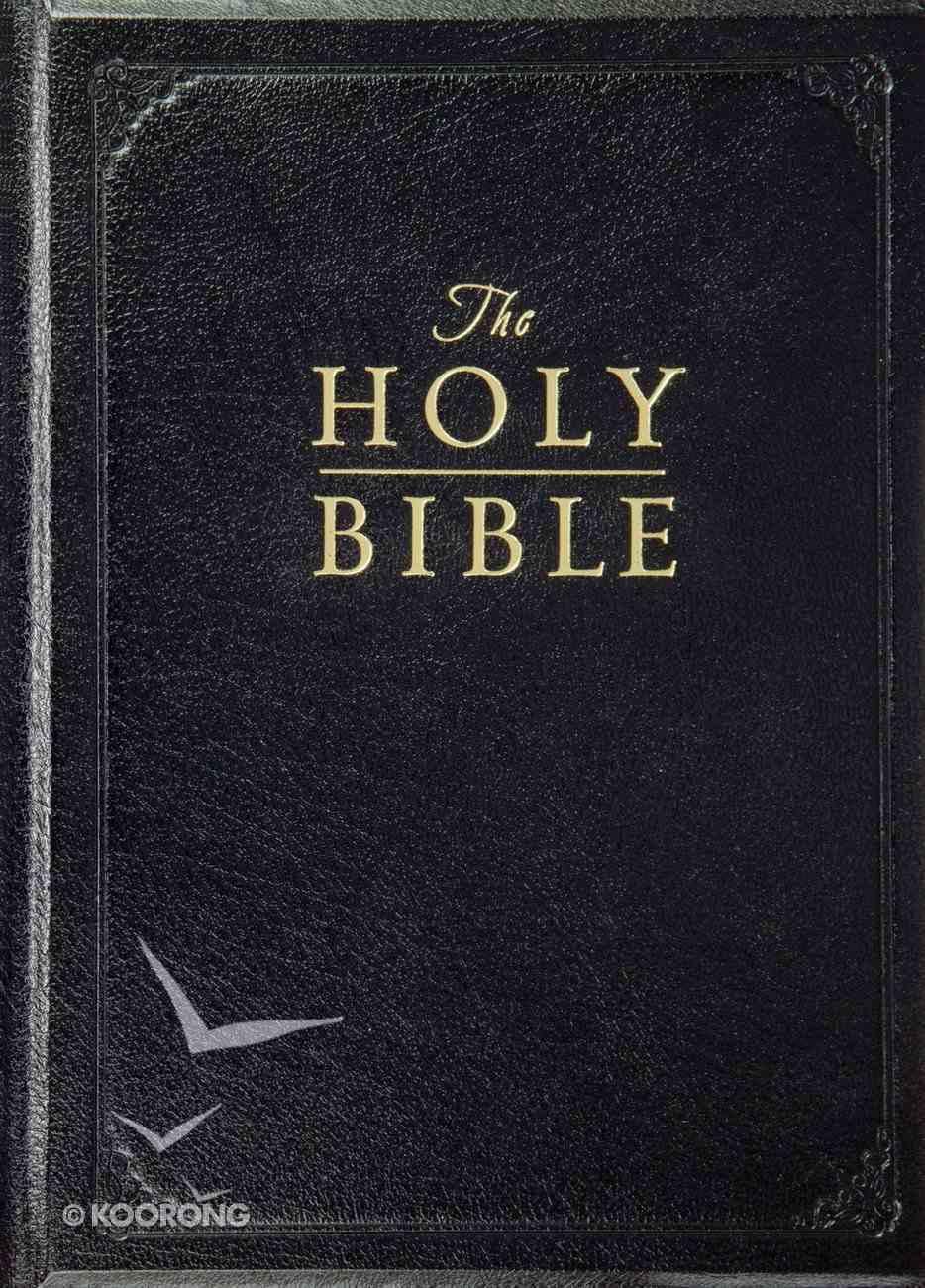 ESV Pulpit Bible Black (Black Letter Edition) Bonded Leather