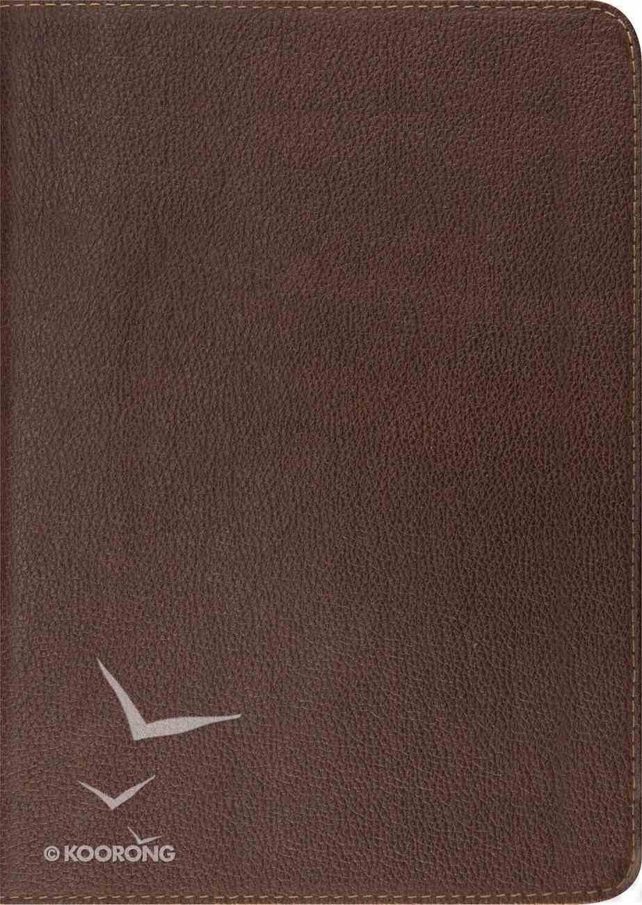 ESV Study Bible Deep Brown Cowhide (Black Letter Edition) Genuine Leather