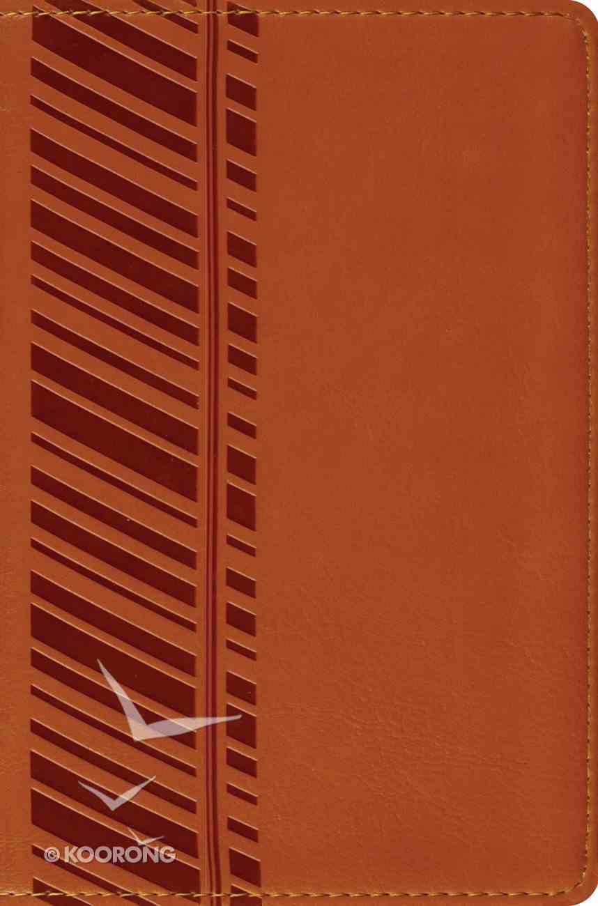 ESV Compact Bible Orange Track Design Imitation Leather