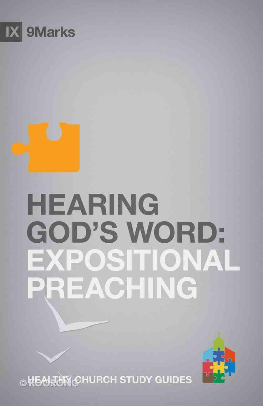 Hearing Gods Word (9marks Series) Paperback