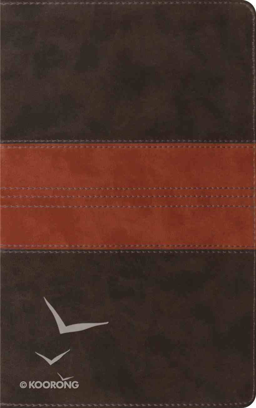 ESV Thinline Bible Forest Tan Trail Design (Red Letter Edition) Imitation Leather
