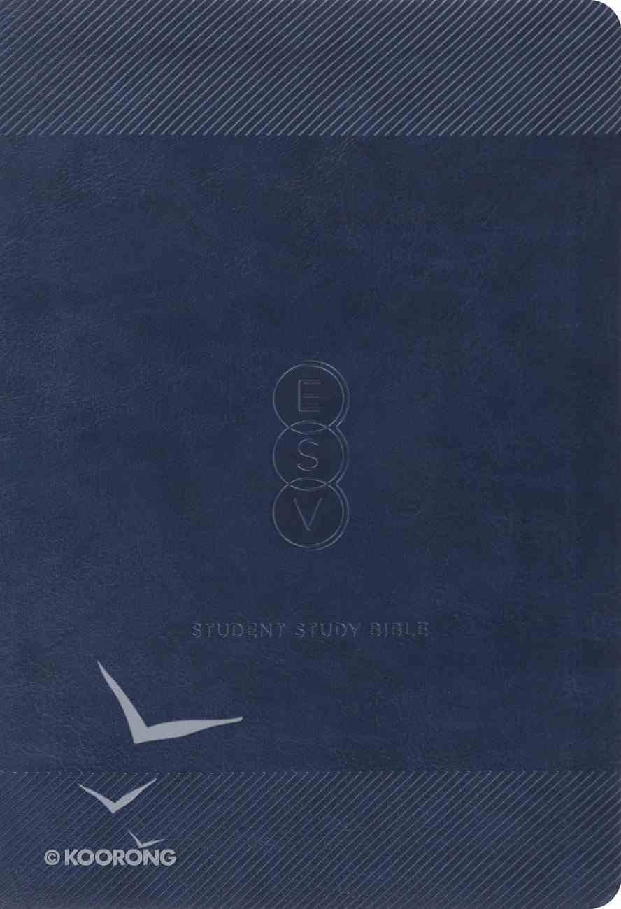 ESV Student Study Bible Navy Trutone Imitation Leather