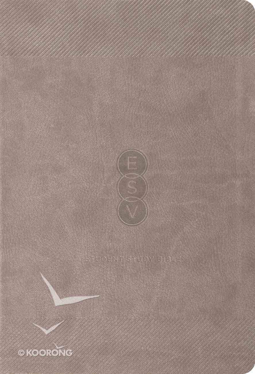 ESV Student Study Bible Taupe Trutone Imitation Leather