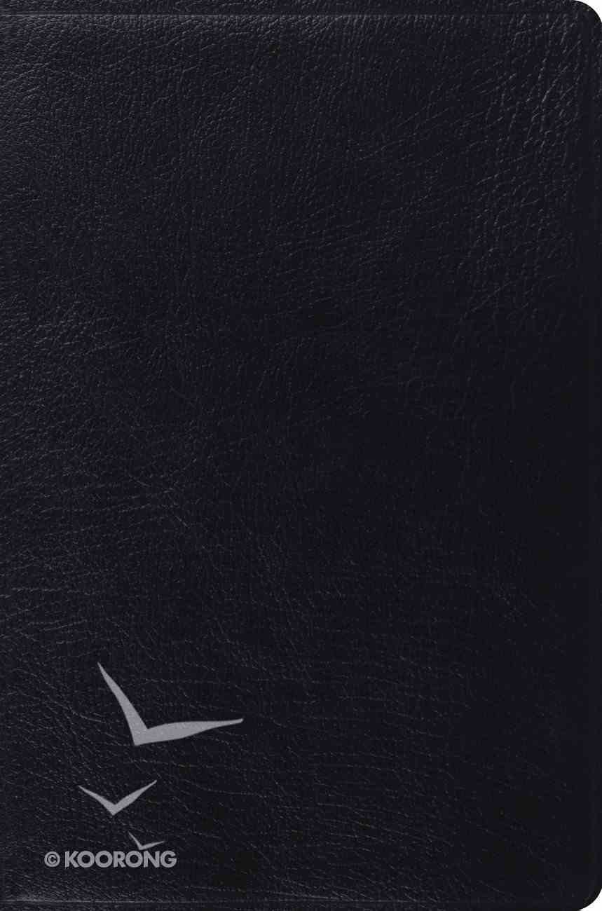 ESV Single Column Legacy Bible Black Genuine Leather