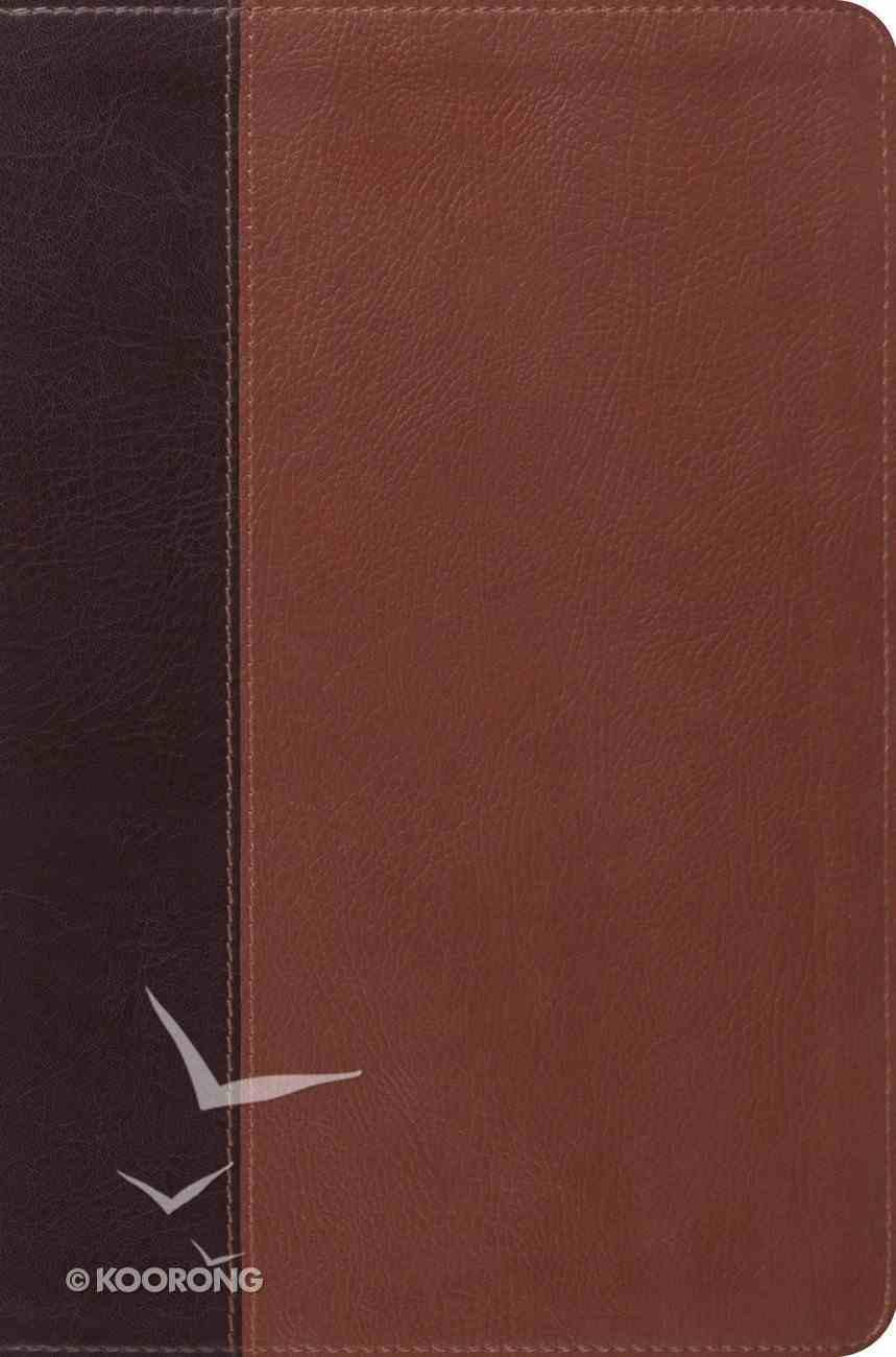 ESV Single Column Legacy Bible Trutone Brown/Cordovan Portfolio Design Imitation Leather