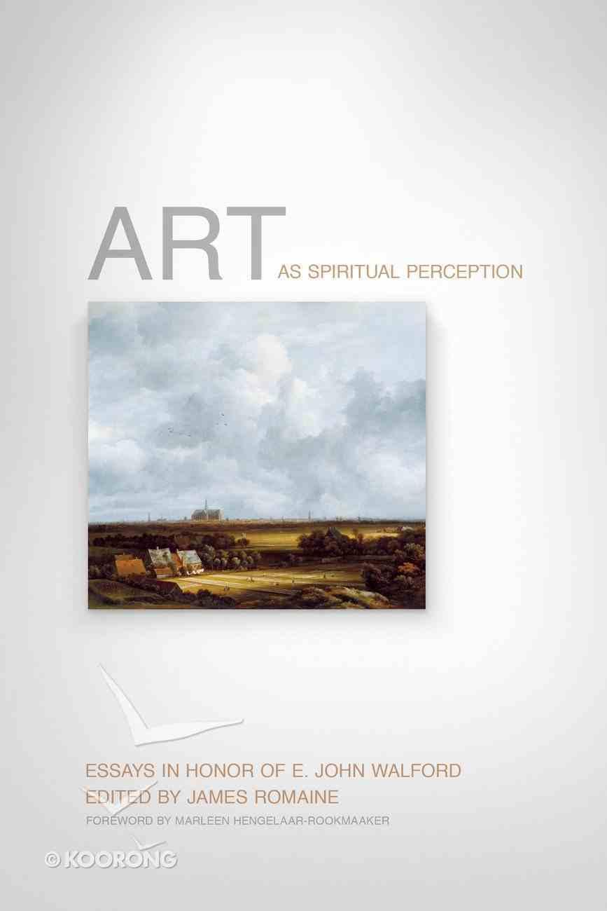 Art as Spiritual Perception Hardback