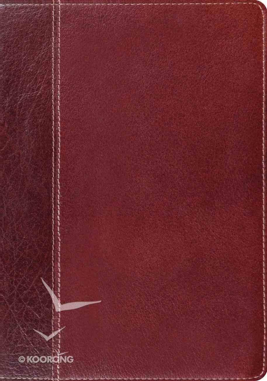 ESV Study Bible Cowhide Brown/Chestnut Timeless Design Genuine Leather